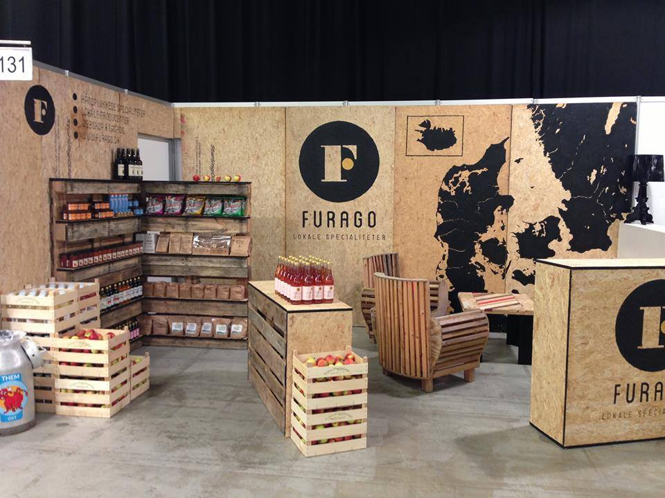 Modern Exhibition Booth Design : Furago thomas dambo